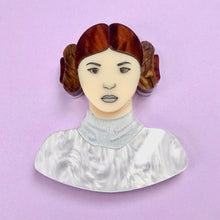 Load image into Gallery viewer, Star Wars - Princess Leia Brooch - edenki