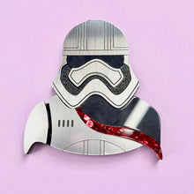 Load image into Gallery viewer, Star Wars - Captain Phasma Brooch