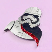 Load image into Gallery viewer, Star Wars - Captain Phasma Brooch - edenki