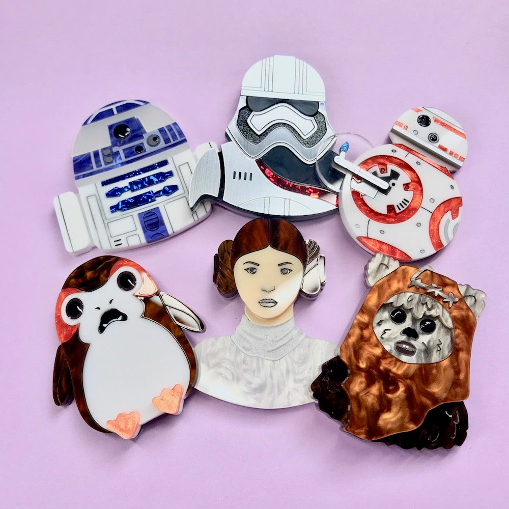 Star Wars - Brooch Set of 6