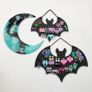 Earring Holder - Bat - edenki