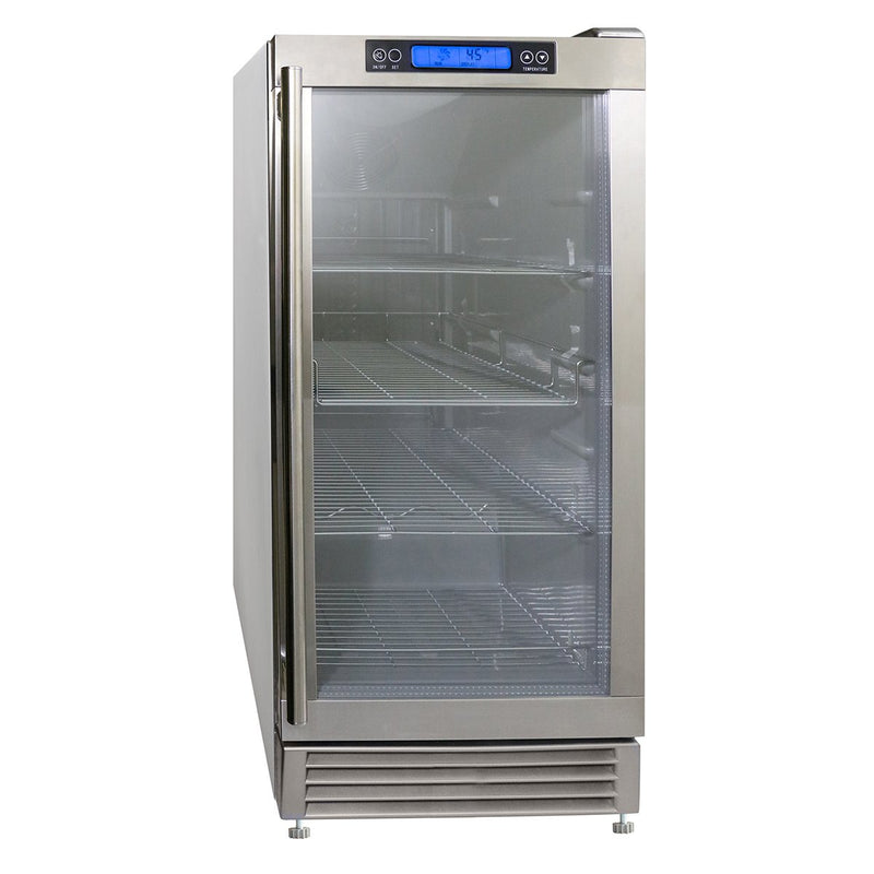 MCBC3U-O Indoor/Outdoor Glass Door Beverage Center