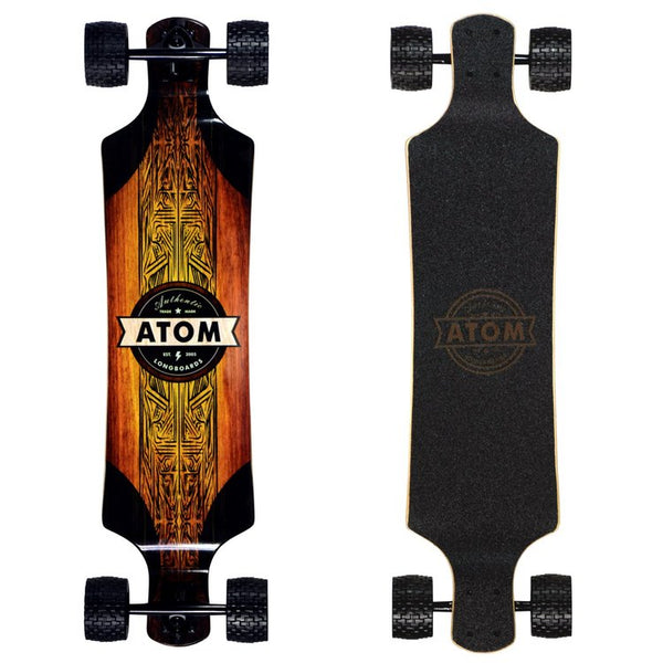 Atom All-Terrain Drop Deck Longboard - 39 Inch - 40026