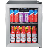 EdgeStar 18 Inch Wide 52 Can Capacity Extreme Cool Beverage Center - BWC71SS
