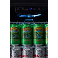EdgeStar 17 Inch Wide 80 Can Capacity Extreme Cool Beverage Center - BWC91SS
