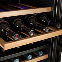 Koldfront 32 Bottle Free Standing Dual Zone Wine Cooler - TWR327ESS