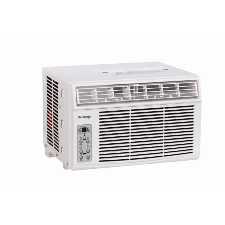 Koldfront 8000 BTU 115V Window Air Conditioner with Dehumidifier and Remote Control - 350 Sq. Ft. Cooling Area - WAC8003WCO