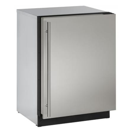 U-Line 24 Inch Wide 4.9 Cu. Ft. Capacity Energy Star Certified Solid Door Beverage Center from the 2000 Series - U-2224RS-00B