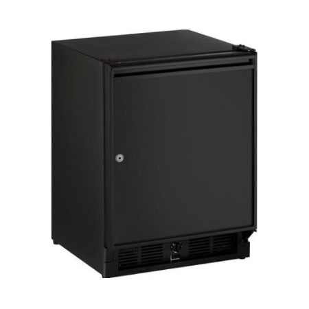U-Line 21 Inch Wide 3.3 Cu. Ft. Capacity Energy Star Certified Right Handed Solid Door Beverage Center with Lock from the ADA Series - U-29RB-13A