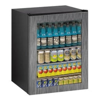 U-Line 24 Inch Wide 5.4 Cu. Ft. Capacity Solid Door Beverage Center Glass Doorfrom the ADA Series - U-ADA24RGLINT-00A