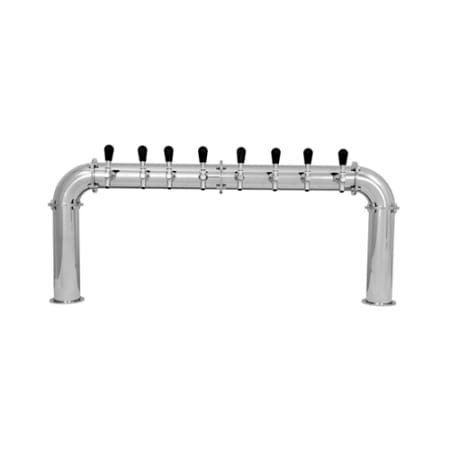 UBC 8 Faucet Arcadia Stainless Beer Tower - Glycol Cooled - AC228-8