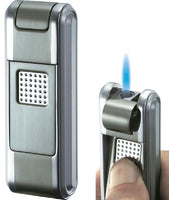 Visol Falcon Satin Gun Single Jet Flame Cigar Lighter
