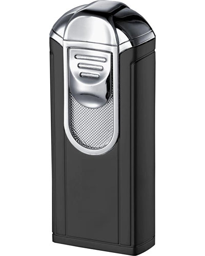 Visol Alec Single Jet Flame Black Matte Cigar Lighter