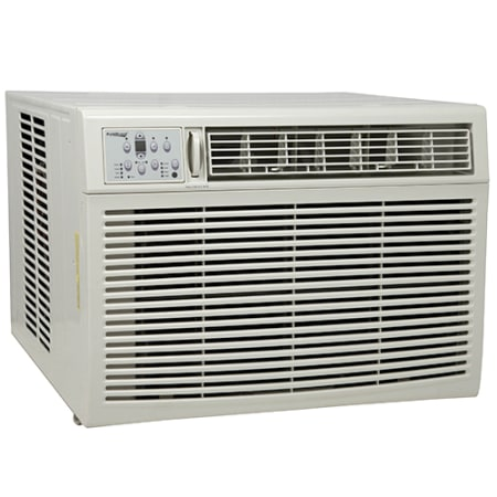 Koldfront 18,500 BTU 208/230V Window Air Conditioner with 16,000 BTU Heater with Remote Control - WAC18001W