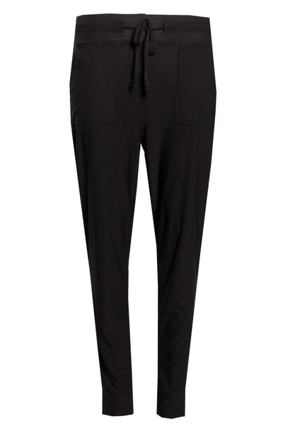 Tied Waist Pants - Black Womens Pants FAIRWEATHER S