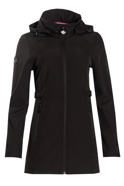 Canada Weather Gear Anorak Jacket - Black Womens Anorak Jackets FAIRWEATHER S