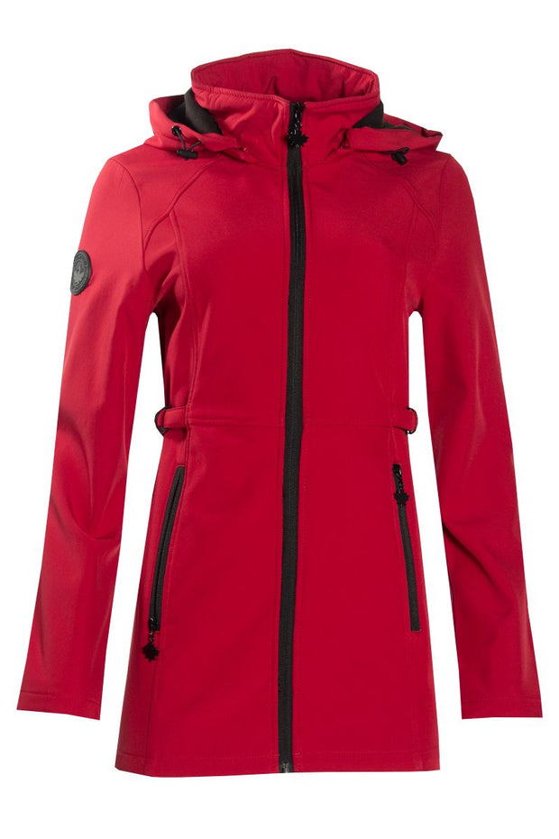 Canada Weather Gear Anorak Jacket - Red Womens Anorak Jackets FAIRWEATHER S
