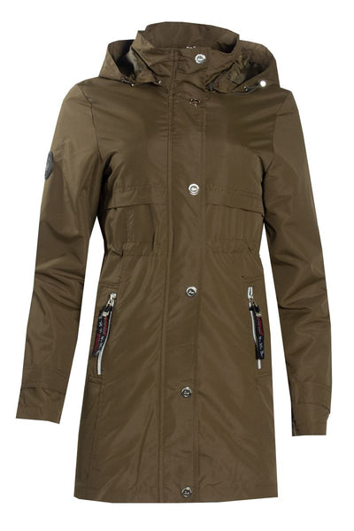 Canada Weather Gear Anorak Jacket - Olive Womens Anorak Jackets FAIRWEATHER S