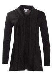 Cocoon Cardigan - Black Womens Cardigans FAIRWEATHER S