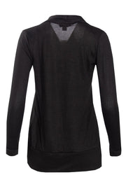 Cocoon Cardigan - Black Womens Cardigans FAIRWEATHER