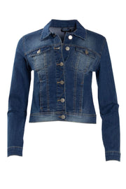 Denim Moto Jacket - Blue Womens Moto Jackets FAIRWEATHER S