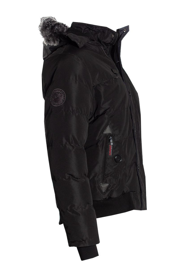 Canada Weather Gear Bomber Jacket - Black Mens Bomber Jackets INTERNATIONAL CLOTHIERS