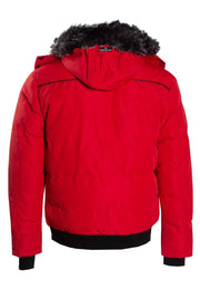 Canada Weather Gear Bomber Jacket - Red Mens Bomber Jackets INTERNATIONAL CLOTHIERS