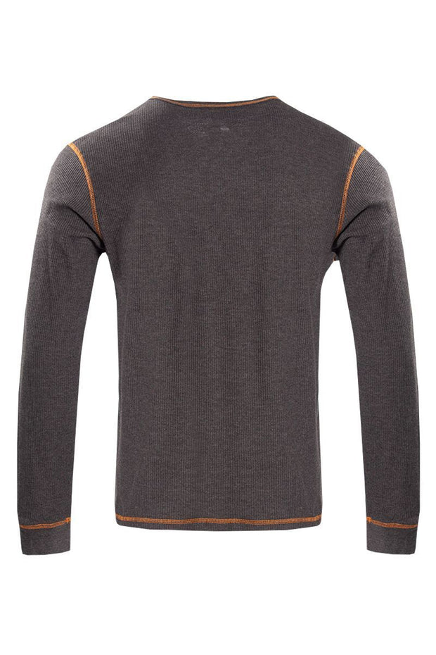 Canada Weather Gear Long Sleeve Top - Grey Mens Long Sleeve Tops INTERNATIONAL CLOTHIERS