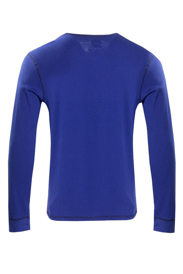 Canada Weather Gear Long Sleeve Top - Blue Mens Long Sleeve Tops INTERNATIONAL CLOTHIERS