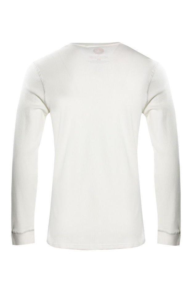 Canada Weather Gear Long Sleeve Top - White Mens Long Sleeve Tops INTERNATIONAL CLOTHIERS