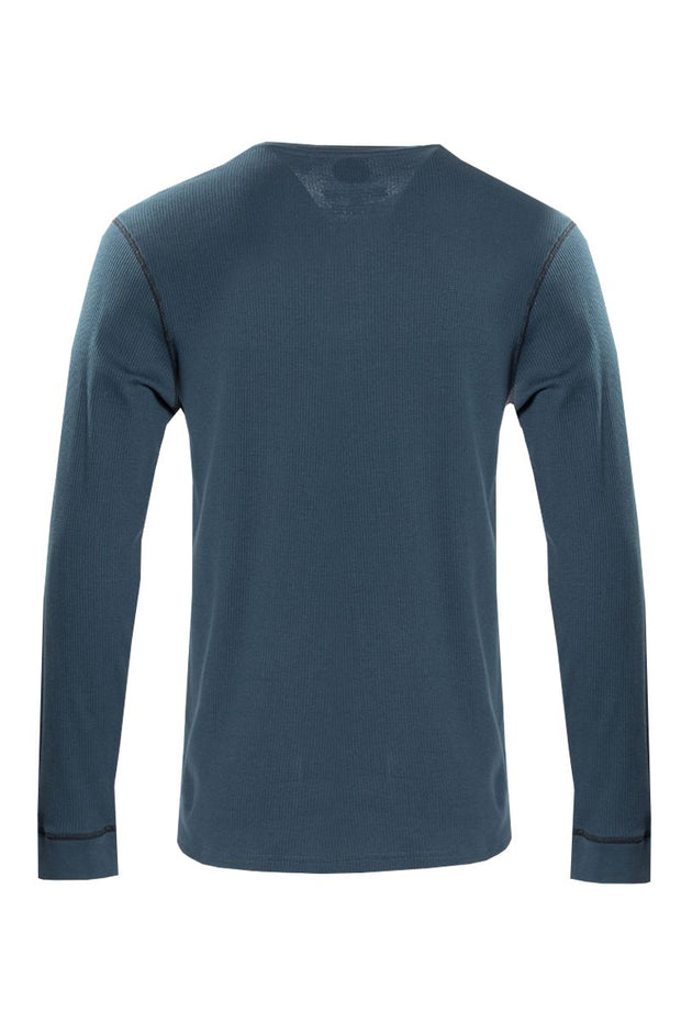 Canada Weather Gear Long Sleeve Top - Turquoise Mens Long Sleeve Tops INTERNATIONAL CLOTHIERS