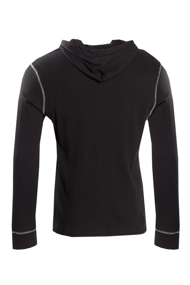 Canada Weather Gear Long Sleeve Top - Black Mens Long Sleeve Tops INTERNATIONAL CLOTHIERS
