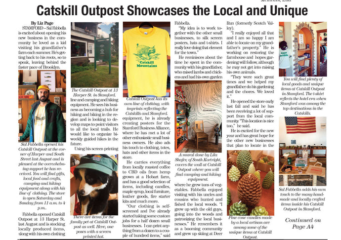 Catskill Outpost in the Mountain Eagle!