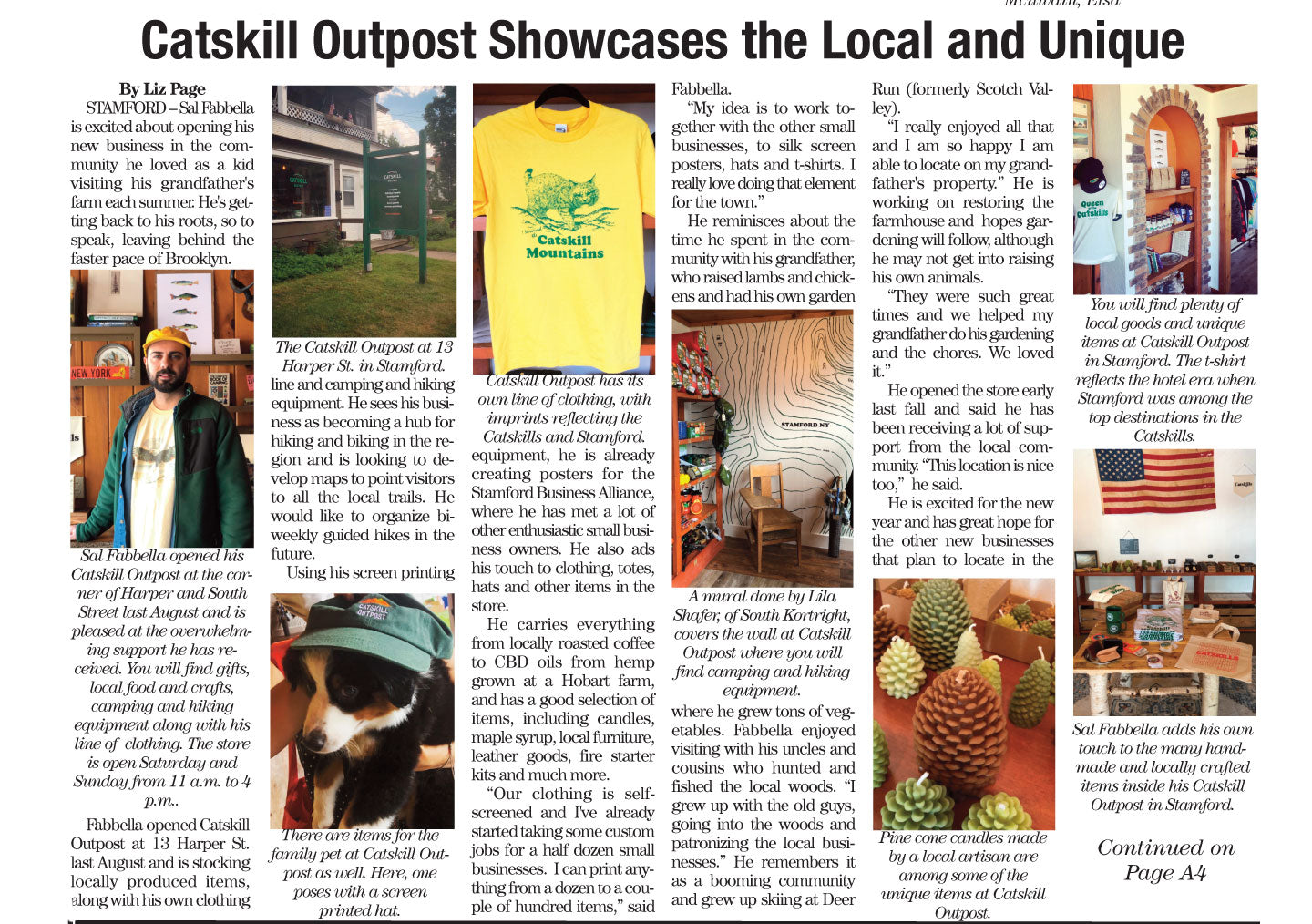 Catskill Outpost in The Mountain Eagle