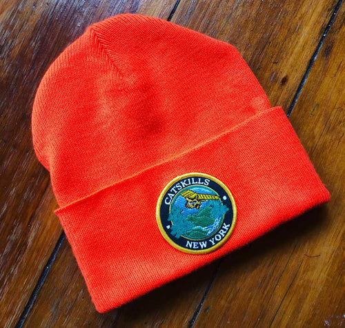 Catskills Safety Orange Beanie