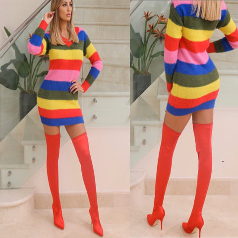 Rainbow 🌈 Oversized Dress