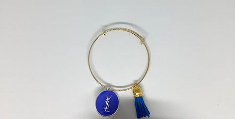 Blue Luxury Bangle