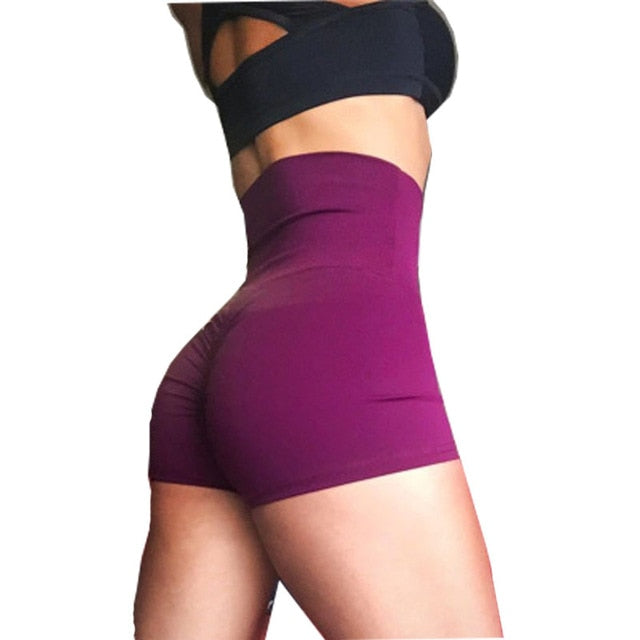 High Waist Shorts For Woman