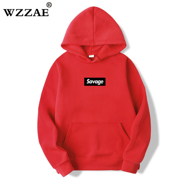 New Mens Hoodies Savage Hoodies Parody