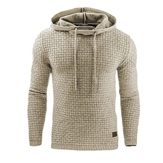 Men's Hoodies Slim Fitted Casual Sweatshirt