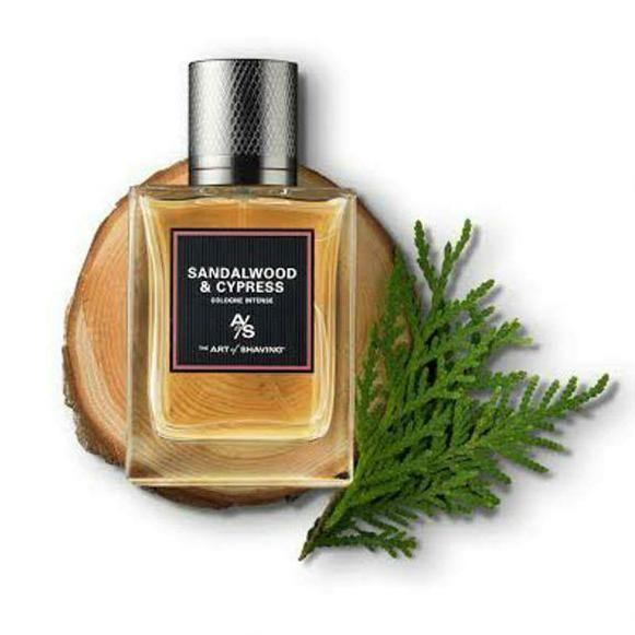 Sandalwood and Cypress Cologne Intense The Art Of Shaving for men - Catwa Deals - كاتوا ديلز | Perfume online shop In Egypt