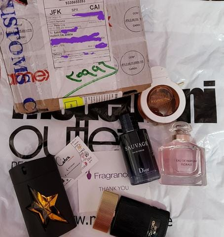 Catwa Deals sources and proofs of Outlet - Un-boxed perfumes