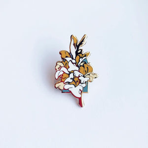 """GLADIOLUS"" Enamel Pin (2nd Edition)"