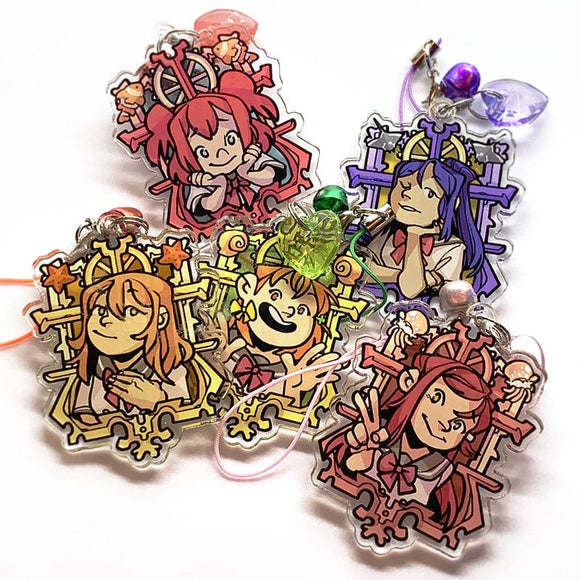 Love Live! Sunshine Acrylic Charms