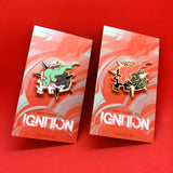 """IGNITION"" Enamel Pin"