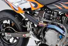 Load image into Gallery viewer, Heatshield straight black  (ex. VAT) - MAD Exhausts