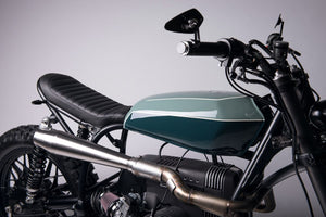 BMW R-series scrambler exhaust (R65, R80, R100)  (ex. VAT) - MAD Exhausts