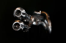 Load image into Gallery viewer, Harley Davidson Sportster Exhaust 'Twisted'  (ex. VAT) - MAD Exhausts