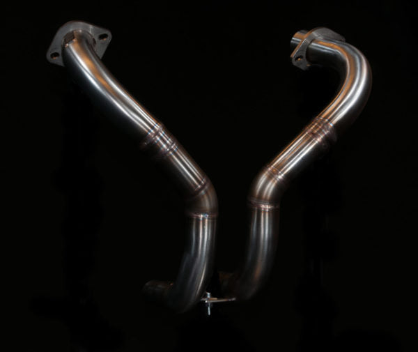 Honda CX GL custom Exhaust 'V for Victory'  (ex. VAT) - MAD Exhausts
