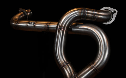 Harley Davidson Sportster Eleanor exhaust  (ex. VAT) - MAD Exhausts